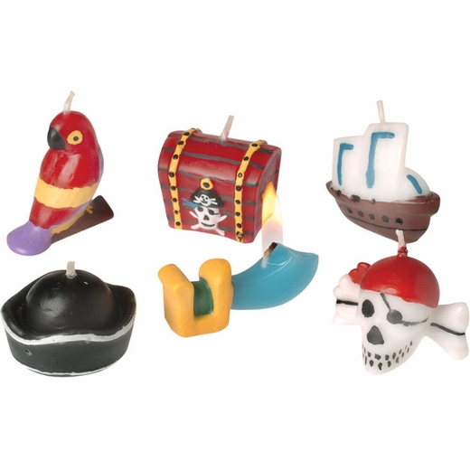 Pirate Birthday Candles