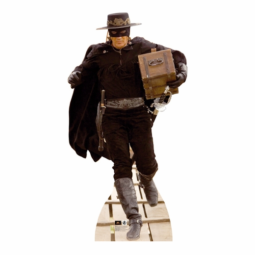 Zorro With Chest Lifesized Standup