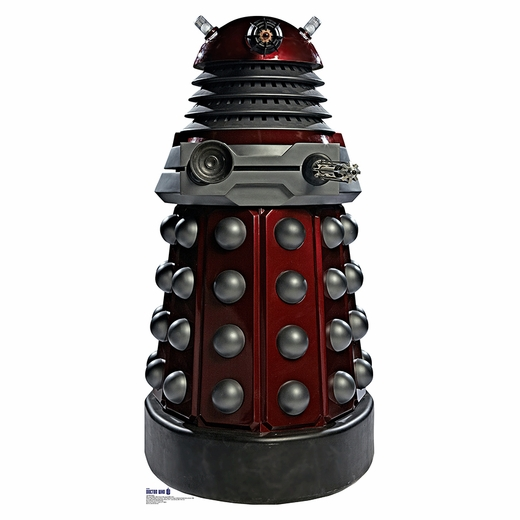 Doctor Who Red Dalek Standup