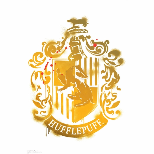 Hufflepuff Crest - Harry Potter 7 Wall Decor