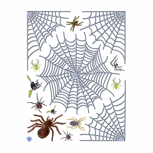Spider Web Window Cling