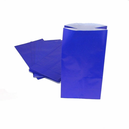 Blue Paper Treat Bags