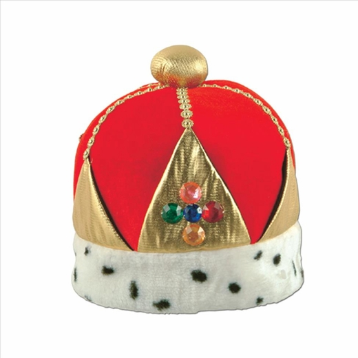 Plush Imperial Queens Crown