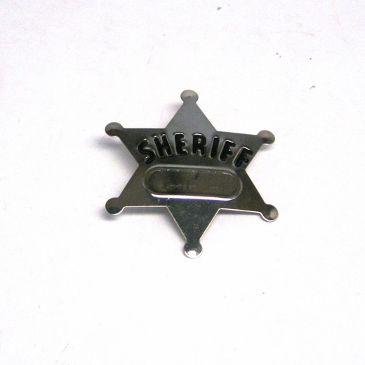 Metal Sheriff Badges