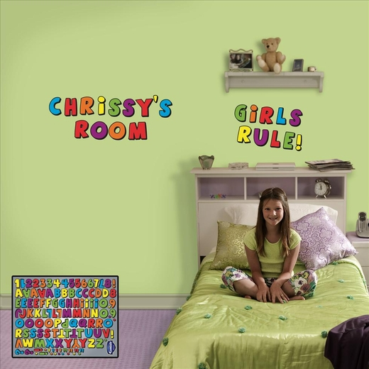 Create Your Own Message Kids Letters-Fathead