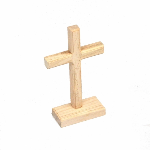 Unfinished Wooden Cross