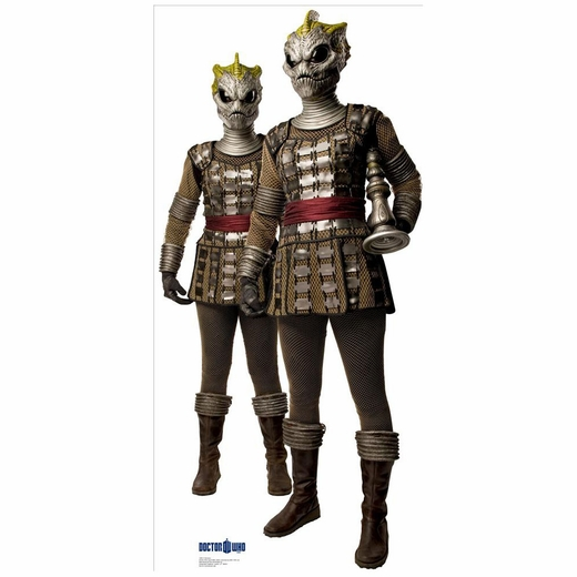2 Silurians Doctor Who Lifesized Standup