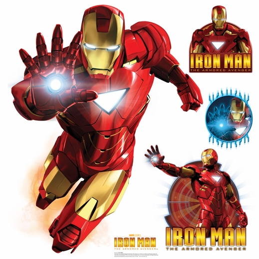 4X4 Iron Man - Marvel Wall Decor