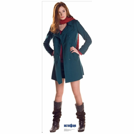 Amy Pond Doctor Who Lifesized Standup