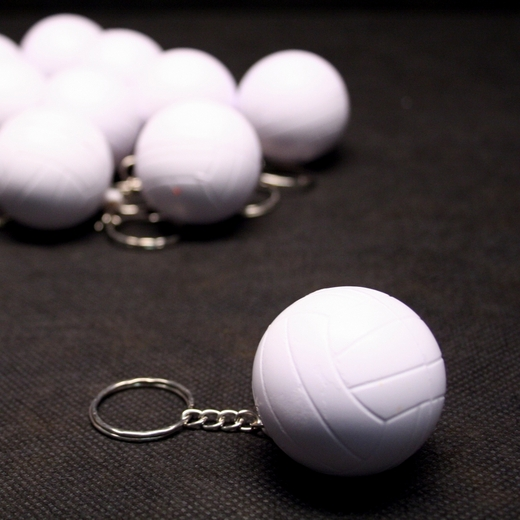 Foam Volleyball Keychains