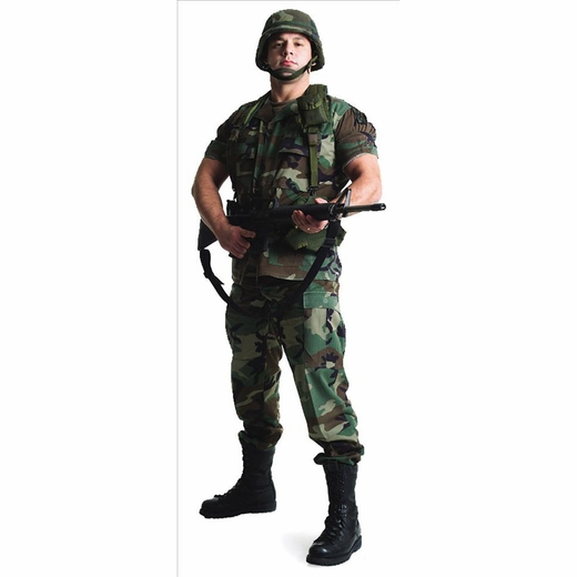 Army Soldier Lifesized Standup