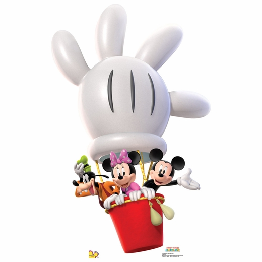 Mickey Balloon Ride Lifesized Standup