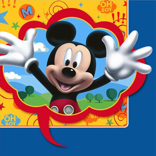 Mickey Mouse Clubhouse Lunch Napkins