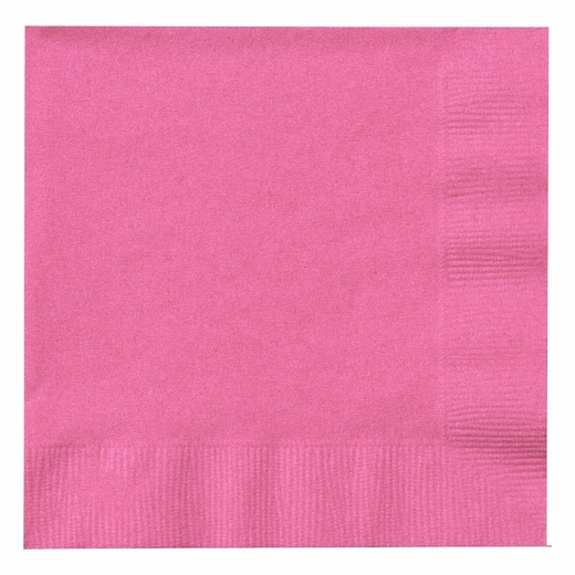 Paper Lunch Napkins - Hot Pink