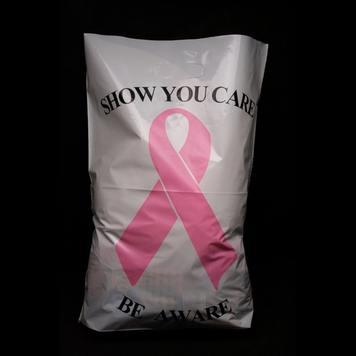 Breast Cancer Awareness Plastic Bags