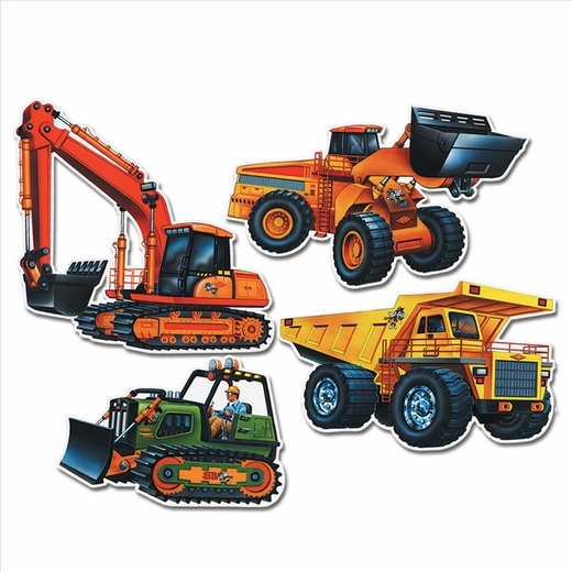 Construction Vehicle Cutouts