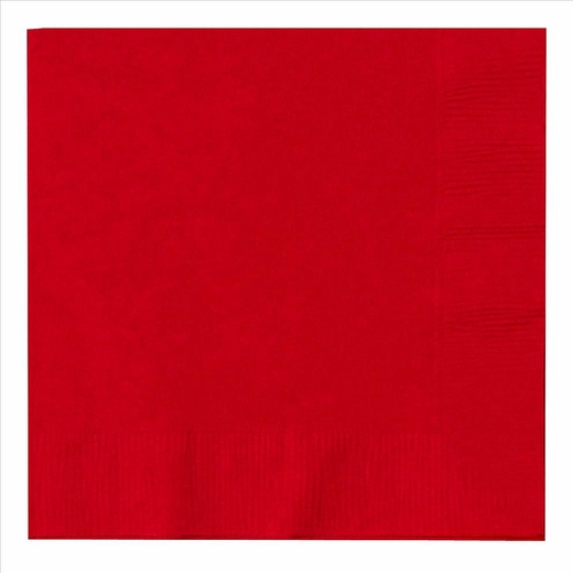 Paper Lunch Napkins - Red