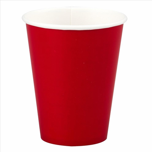 Red Paper Cup - 12oz
