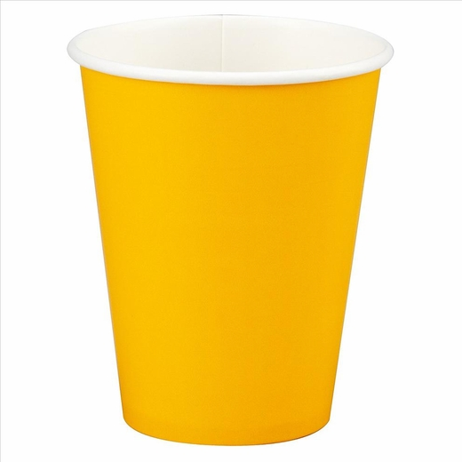 Yellow Paper Cup - 12oz