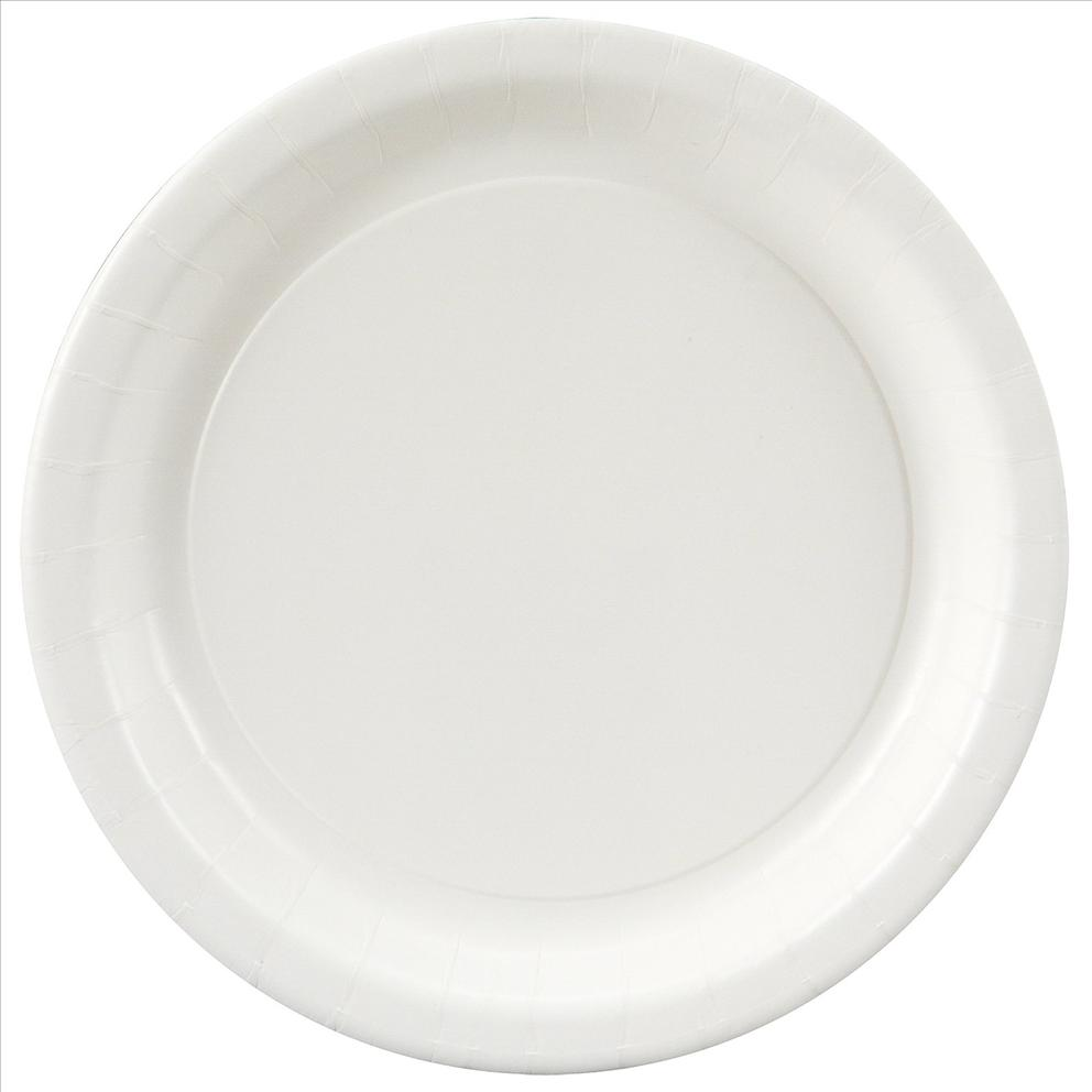 paper plates Chinet classic white plates and bowls have a heritage of bringing strength and durability to the table when it comes to any occasion chinet® classic white™ paper plate in white color has 8 3/4 dia and is made of 100 percent pre-consumer recycled materials.