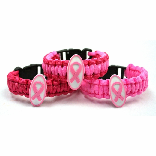 Pink Ribbon Survival Bracelet
