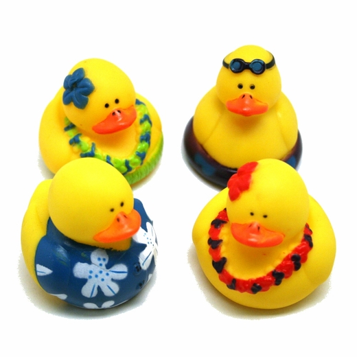 Luau Rubber Duckies