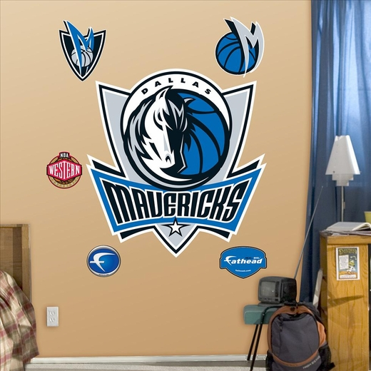Dallas Mavericks Logo-Fathead