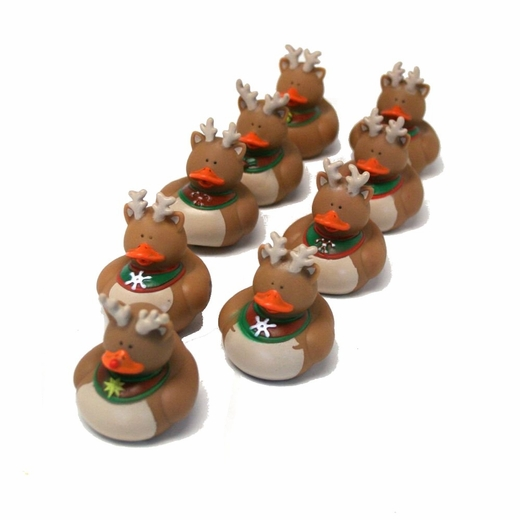 Reindeer Rubber Ducks