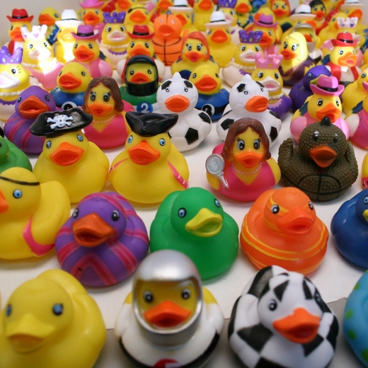 100ct Bulk Rubber Duck Assortment