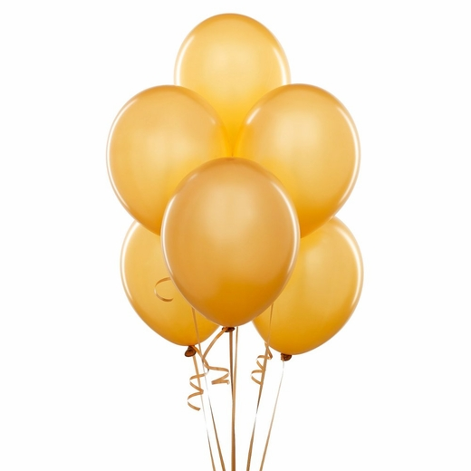 Gold Balloons - 12""
