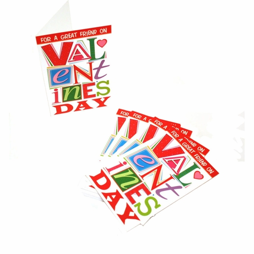 For A Great Friend On Valentine's Day Cards
