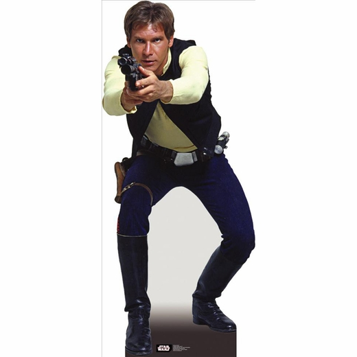Han Solo-Lifesized Standup