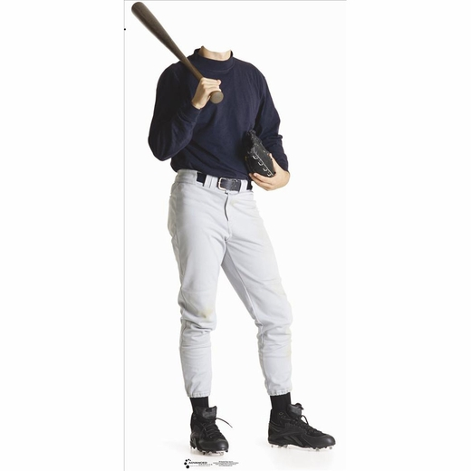 Baseball Player Stand In-Lifesized Standup