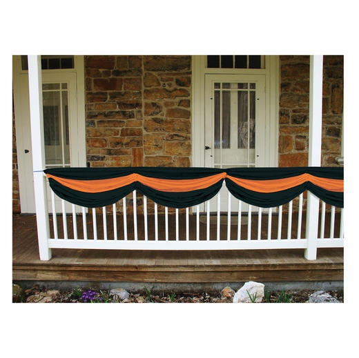 Orange And Black Striped Bunting