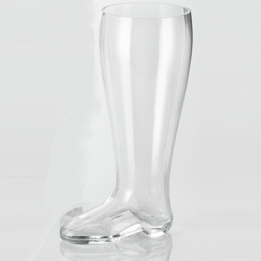 2 Liter Glass Beer Boots