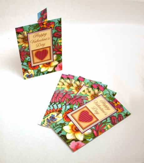 Happy Valentine's Day Heart Cards