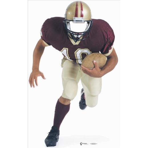 Football Player Stand In-Lifesized Standup