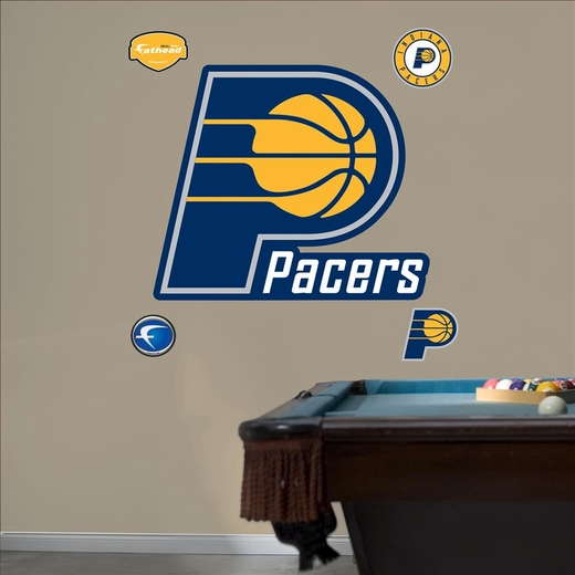Indiana Pacers Logo-Fathead