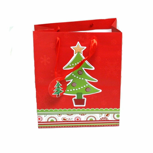 Large christmas glitter gift bags