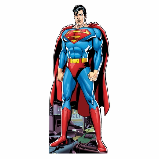 Lifesized Superman Cartoon Standup