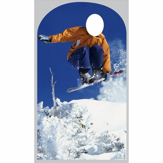Snowboarder Stand In-Lifesized Standup