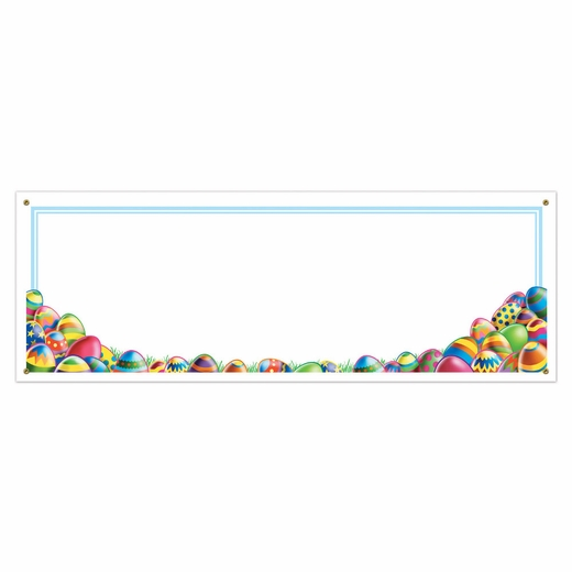 Design Your Own Easter Egg Hunt Banner