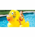 Swimline Giant Inflatable Ducky Rider # 9062