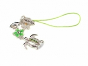 Hawaiian Turtle Honu Phone Charm Strap Green