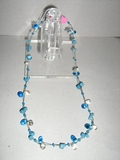 WOMEN'S GLASS BEADED NECKLACE
