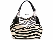 ZEBRA PRINT GO SHOPPER HANDBAG