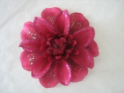 WOMEN'S FASHION FLOWER HAIR CLIPS ANEMONE