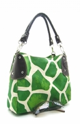 GIRAFFE PRINT  BUCKET SHOPPER