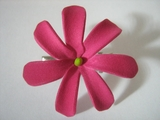 "Mini Tahitian Gardenia ""Tiare""  Flower-Hot Pink"