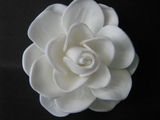 "GARDENIA ROSE FLOWER HAIR PICK TK-FGAR1 2.5"" inch"